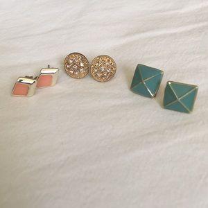 Jewelry - BUNDLE Earring Studs